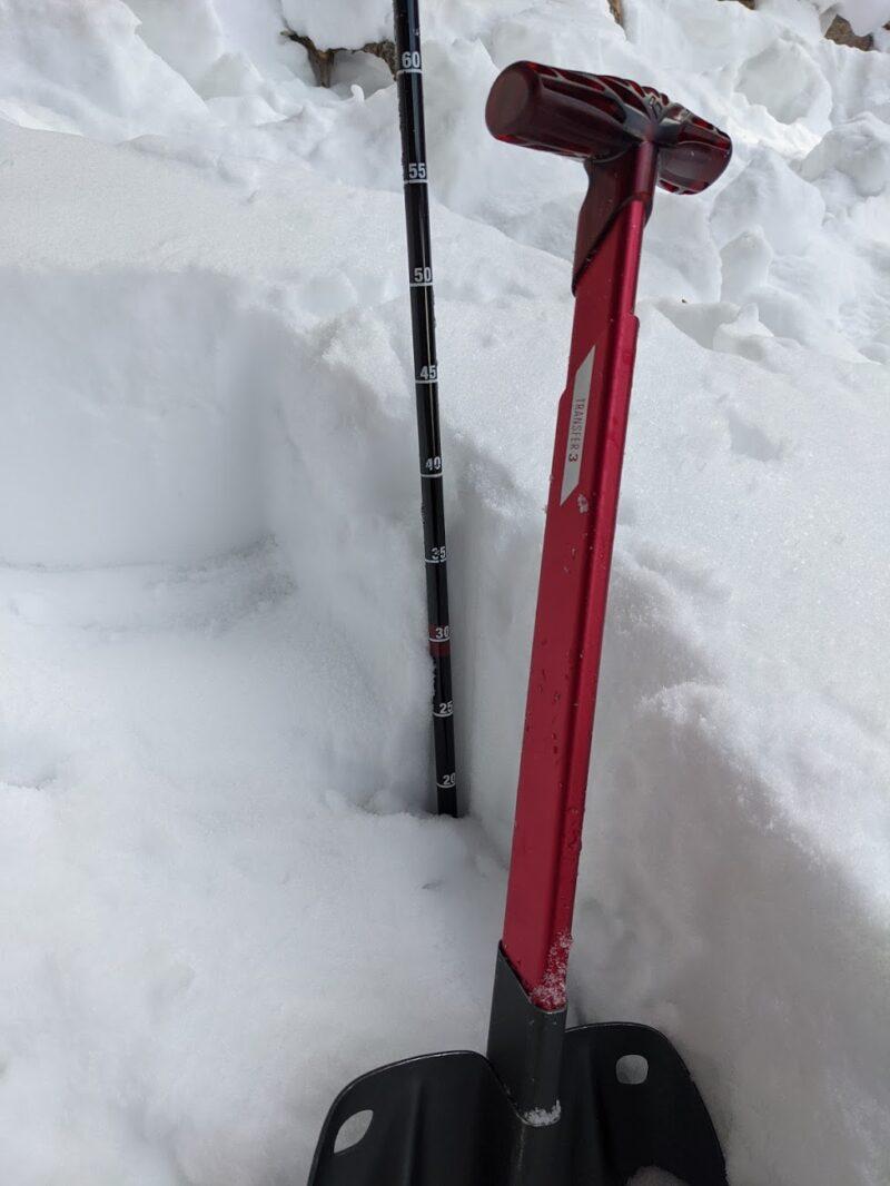 Snowpit photo